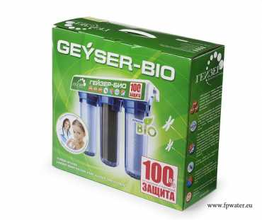 Drinking water filter Geyser Bio (clear shell)